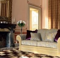 Итальянская мягкая мебель Domingo Salotti классический диван Arthur
