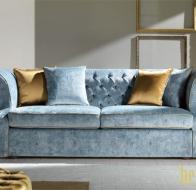 Итальянская мягкая мебель Domingo Salotti классический диван Benjamin