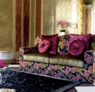 Итальянская мягкая мебель Domingo Salotti классический диван Kameha