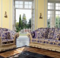 Итальянская мягкая мебель Domingo Salotti классический диван Velvet