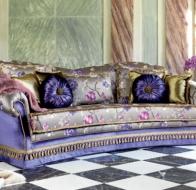 Итальянская мягкая мебель Domingo Salotti классический диван Zeryba