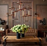 Голландские люстры и светильники Eichholtz