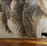 Французские дизайнерские обои ELITIS Raffia & Madagascar