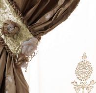 Итальянская фабрика интерьерного текстиля Fantasia Fiorentina коллекция Ninfea