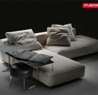 Итальянская мебель Flexform угловой диван Grande Mar
