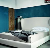 Итальянская мебель Flexform кровать Lauren