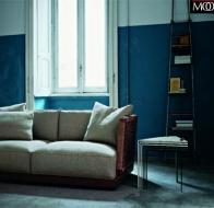 Итальянская мебель Flexform коллекция Mood диван Oscar