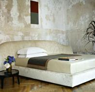 Итальянская мебель Flexform коллекция Mood кровать Swoon