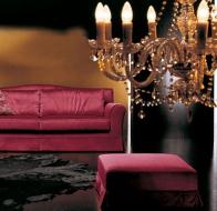 Итальянская мягкая мебель FORMERIN диван SIMONE