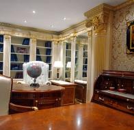 Итальянская мебель Francesco Molon коллекция в стиле арт-деко Eclectica кабинетт