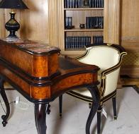 Итальянская мебель Francesco Molon коллекция в стиле арт-деко Eclectica кабинет