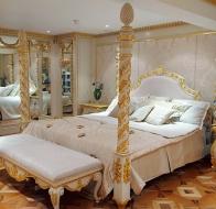 Итальянская мебель Francesco Molon коллекция в стиле арт-деко Eclectica спальня