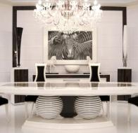 Итальянская мебель Francesco Molon коллекция в стиле арт-деко Eclectica столовая