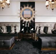 Итальянская мебель Francesco Molon коллекция в стиле арт-деко Eclectica диван