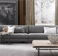 Итальянская фабрика мягкой мебели FRIGERIO диван DAVIS OUT