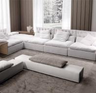 Итальянская фабрика мягкой мебели FRIGERIO диван DOMINIO CAPITONNE