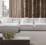 Итальянская фабрика мягкой мебели FRIGERIO диван DOMINIO MEDIUM