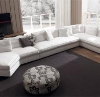 Итальянская фабрика мягкой мебели FRIGERIO диван DUNCAN