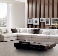 Итальянская фабрика мягкой мебели FRIGERIO диван JORDAN