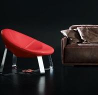 Итальянская мягкая мебель GAMMA кресло Shine