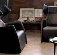 Итальянская мягкая мебель GAMMA кресло Snob