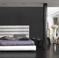Итальянская мягкая мебель GAMMA кровать Wafer