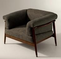 Итальянская мягкая мебель GIORGETTI кресло Derby