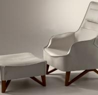 Итальянская мягкая мебель GIORGETTI кресло Mobius