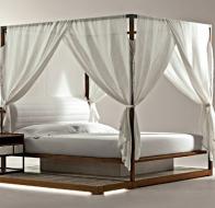 Итальянская мягкая мебель GIORGETTI кровать Ira