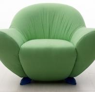 Итальянская мягкая мебель GIOVANNETTI кресло MOMMA