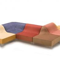 Итальянская мягкая мебель GIOVANNETTI диван DUNE
