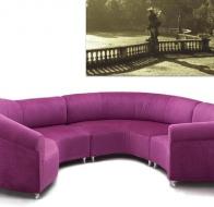 Итальянская мягкая мебель GIOVANNETTI диван GALASSIA LIGHT