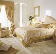 Итальянская спальня HALLEY классическая коллекция мебели Bellagio