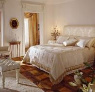 Итальянская спальня HALLEY классическая коллекция мебели Ermitage