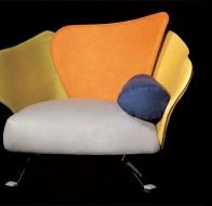 Итальянская мягкая мебель IL LOFT кресло FLOWER