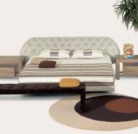 Итальянская мебель IL LOFT кровать FLY CAPITONE