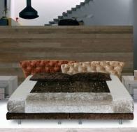 Итальянская мебель IL LOFT кровать SUPER ROY CAPITONE