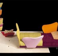 Итальянская мебель для детской IL LOFT кровать FLOWER