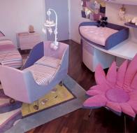 Итальянская мебель для детской IL LOFT кровать GINEVRA CULLA