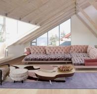 Итальянская мягкая мебель IL LOFT диван SUPER ROY CAPITONNE