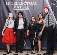 Первая четвертьфинальная игра Intellectual Battle - 2017