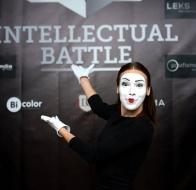 Первая игра  Intellectual Battle