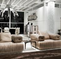 Итальянская мебель IPE CAVALLI коллекция GRANTOUR гостиная
