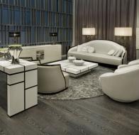 Итальянская мебель IPE CAVALLI коллекция STREAMLINED диван и кресла