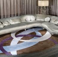 Итальянская мебель IPE CAVALLI коллекция STREAMLINED угловой диван