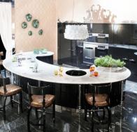 Итальянская мебель IPE CAVALLI коллекция VISIONNAIRE кухня CYCAS