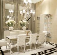 Итальянская мебель IPE CAVALLI коллекция VISIONNAIRE столовая