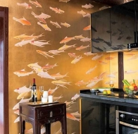 Обои De Gournay- Collection Japanese and korean collection