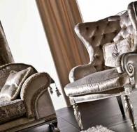 Итальянская мягкая мебель KEOMA кресло VALERIA