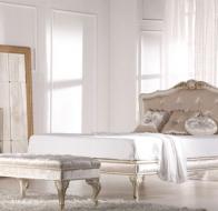 Итальянская мягкая мебель KEOMA кровать LISA